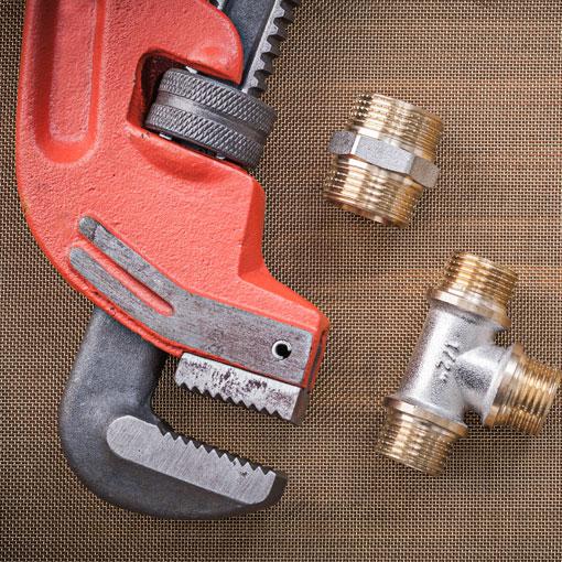Attrezzatura di settore nella fornitura idraulica