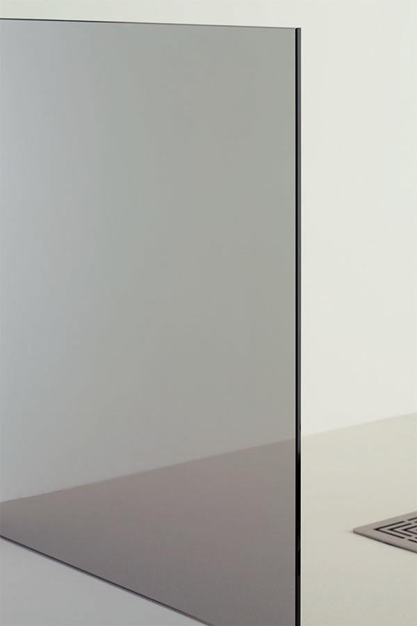 vetro trasparente grigio, idrosanitaria lecco