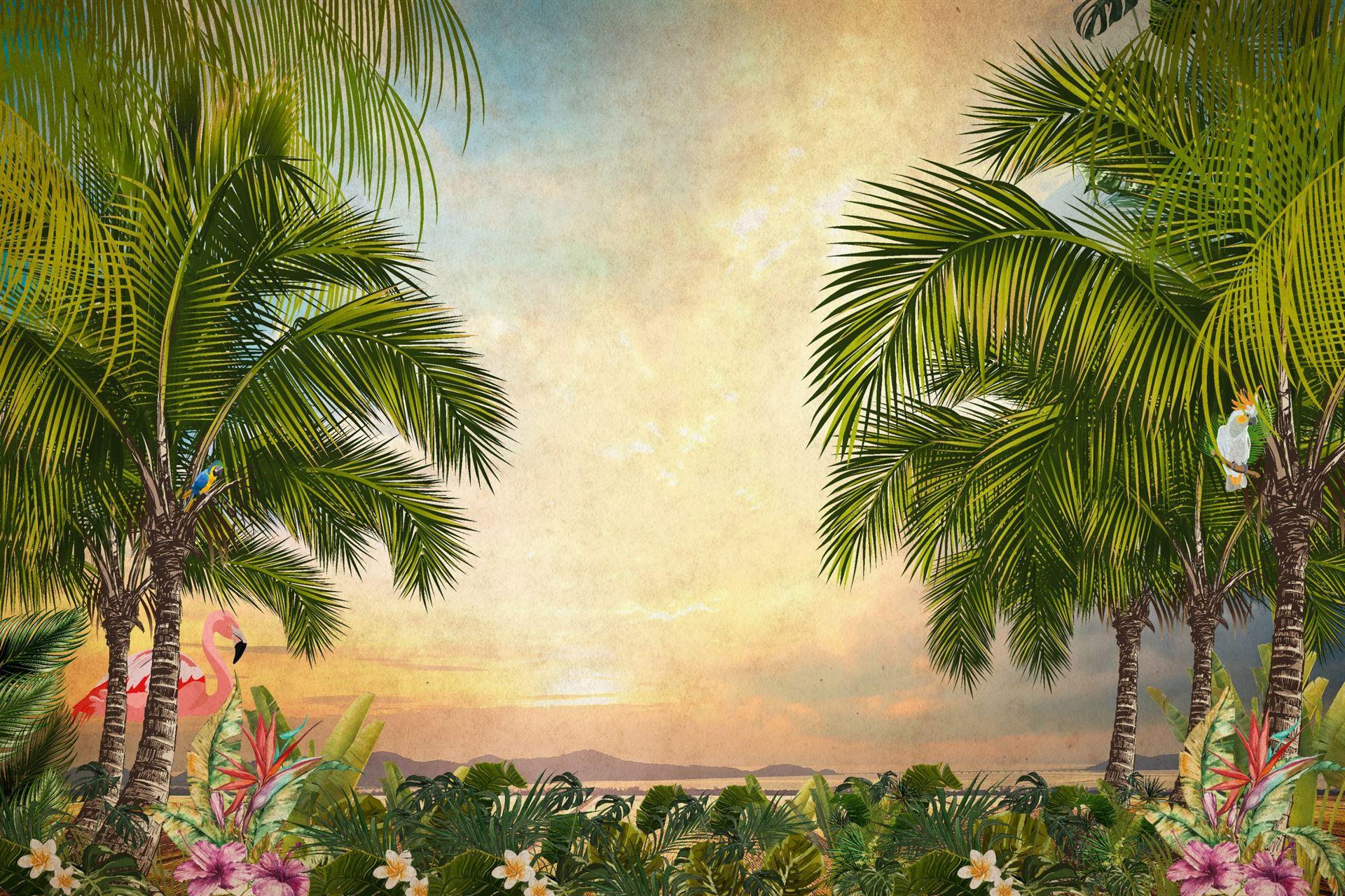 carta da parati per il bagno con paesaggi, idrosanitaria lecco