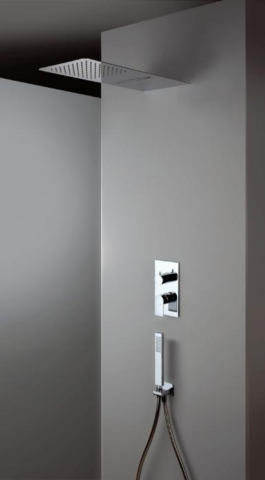 rubinetti bagno, soffione doccia rettangolare, Idrosanitaria Lecco